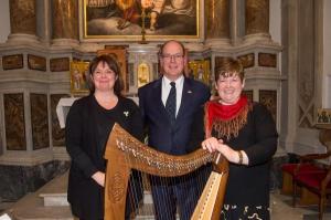 An Evening with Irish Harpist Janet Harbison Featuring Noëlle Fichou Vera Chapelle de la Visitation, Monaco-Ville