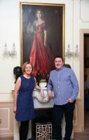 Liz Nugent and her husband Richard McCullough