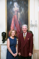 Liz Nugent and PGIL Trustee, Francis O Hara