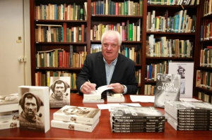 Michael Smith at his book signing