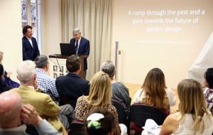 Philippe Blanchi,Trustee, introducing Diarmuid Gavin