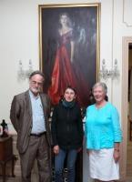Professor Adrian Frazier, Maguy Pernot-Deschamps & Dr Mary Pierse