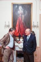 Professor Adrian Frazier & Consul Pierre Joannon