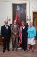 Consul Pierre Joannon, Prof Adrian Frazier, Mrs Annick Joannon & Dr Mary Pierse