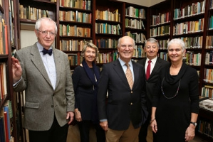 Keith Jeffery, Annick and Pierre Joannon, Philippe Blanchi and Sally Visick