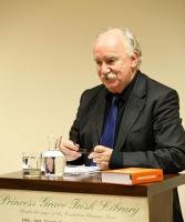 John Kelly introducing Professor Declan Kiberd