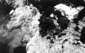 Aerial view of Villa E1027