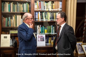 Peter K Murphy (PGIL Trustee) and Prof Adrian Frazier