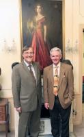 Professor Paul Monod and Mr Francis O Hara
