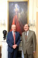 HE Peter Murphy and Professor Paul Monod