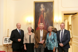 HE Peter Murphy, Dr Mary Pierse, Mr Francis O Hara, Mrs Peter Murphy & Mr Michael Pierse
