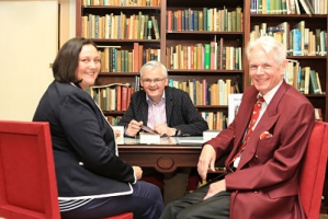 Katrin Walker, Stephen Walker and Francis O Hara