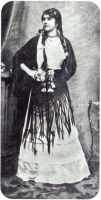 Eliza Lynch at around 20 years of age