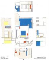 Floor plan of Villa E1027