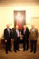 PGIL Trustee Francis O Hara _ Michael Lillis _ Prof Ronan Fanning _ Consul Pierre Joannon
