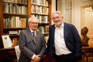 Professor Thomas Bartlett and Professor Christopher Fox, Fellow of the Keough-Naughton Institute for Irish Studies
