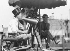 Rex Ingram directing The Four Horsemen of the Apocalypse