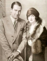 Rex Ingram with his wife, Alice Terry