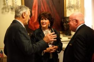 Ted Dexter, Caroline & Michael Lillis.