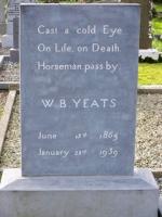 W B Yeats grave at the Church of Saint Columba, Drumcliff, Sligo
