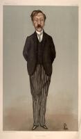 George Moore by Walter Sickert Vanity Fair January 1897