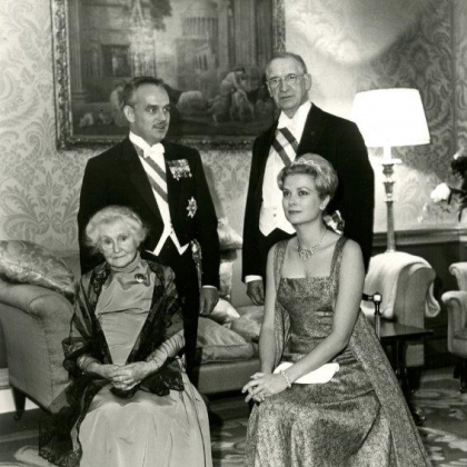 Princess Grace & Prince Rainier III official state visit to Ireland in 1961