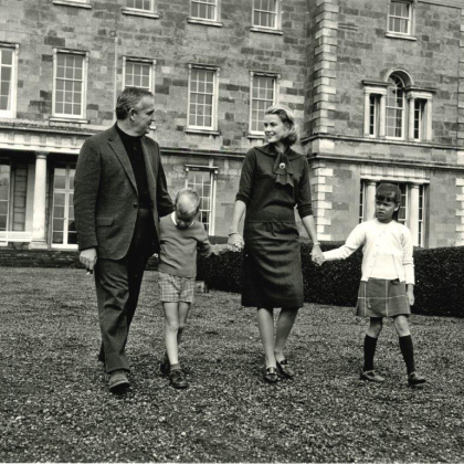 Princess Grace family visits to Ireland