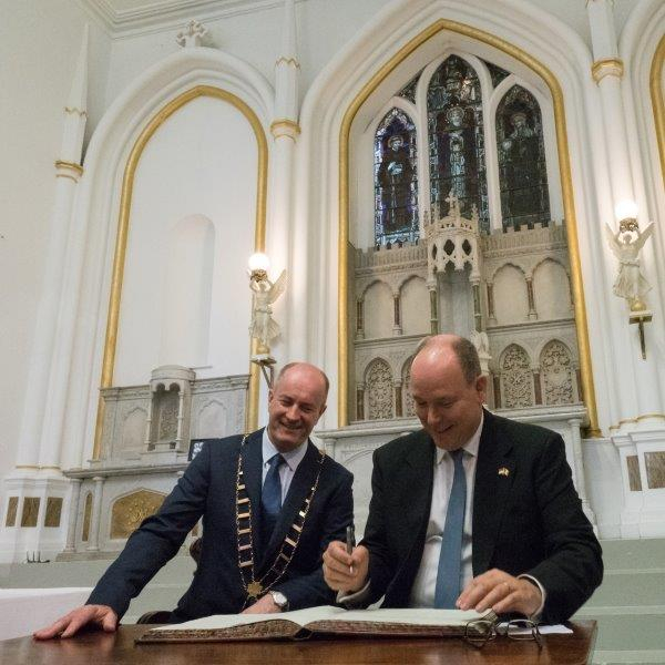 Prince Albert II state visit to Ireland in 2017 - 7