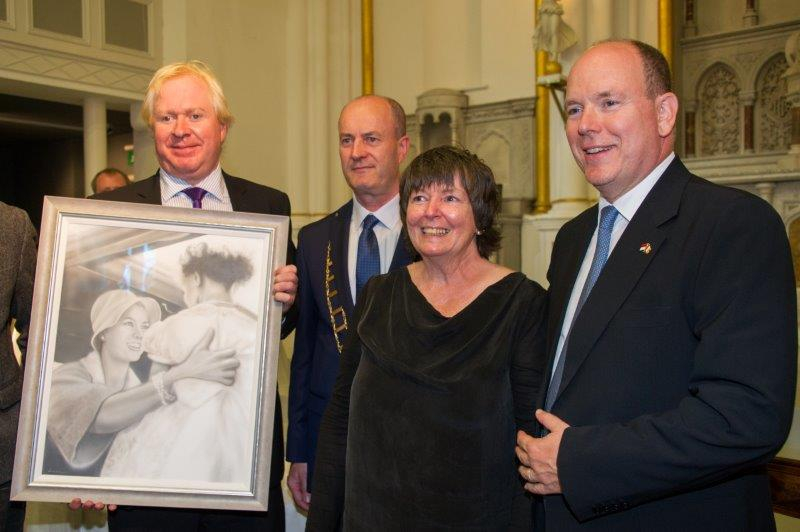 Prince Albert II state visit to Ireland in 2017 - 2