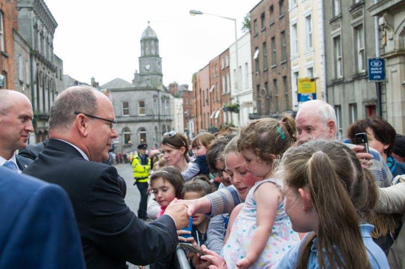 Prince Albert II state visit to Ireland in 2017 - 4