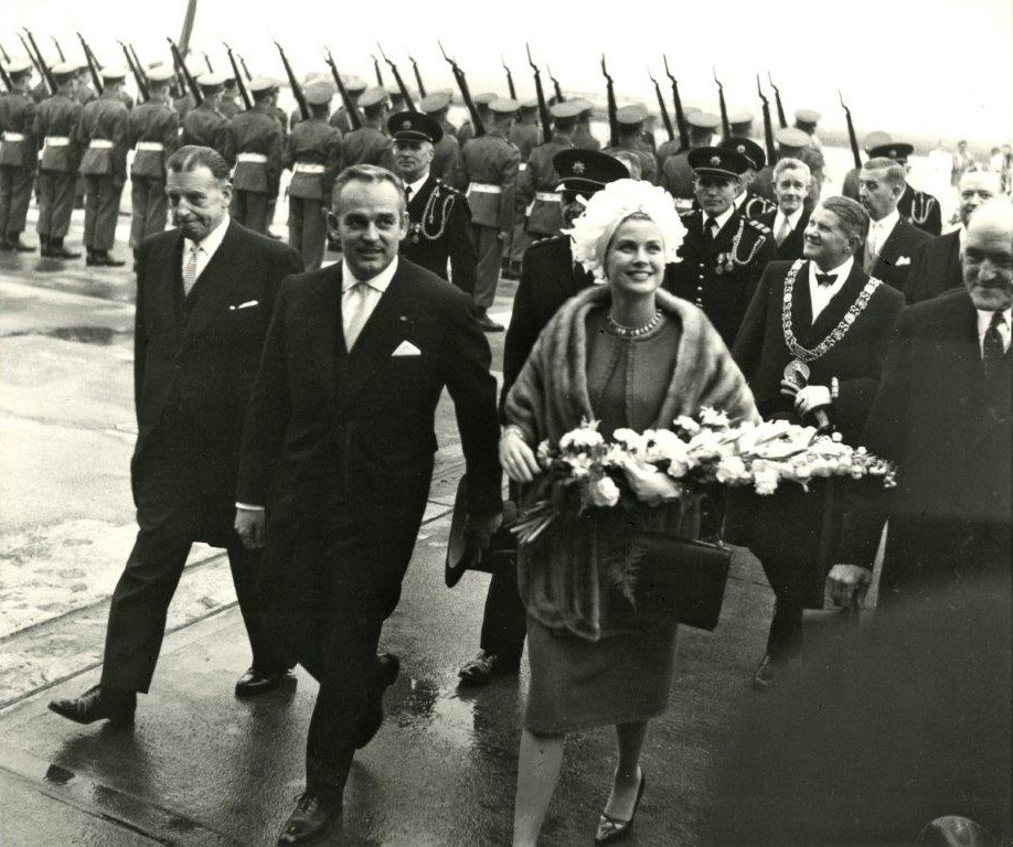 Princess Grace & Prince Rainier III official state visit to Ireland in 1961 - 13
