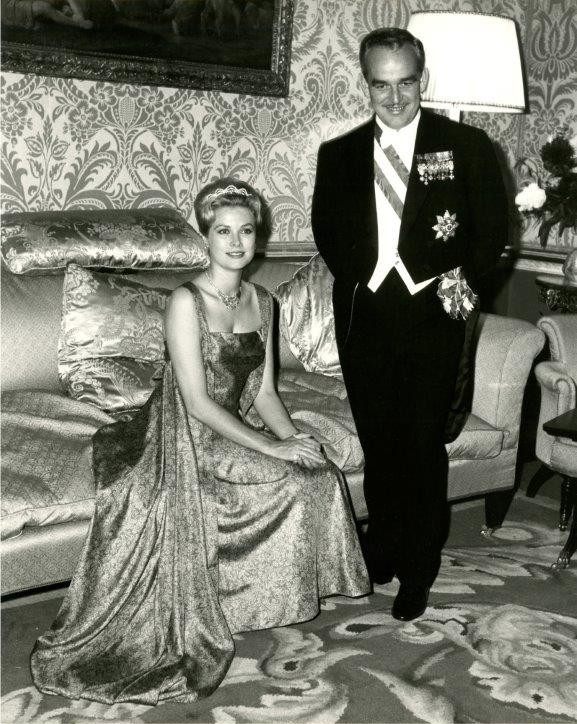 Princess Grace & Prince Rainier III official state visit to Ireland in 1961 - 11