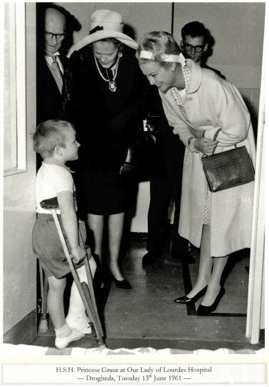 Princess Grace & Prince Rainier III official state visit to Ireland in 1961 - 1