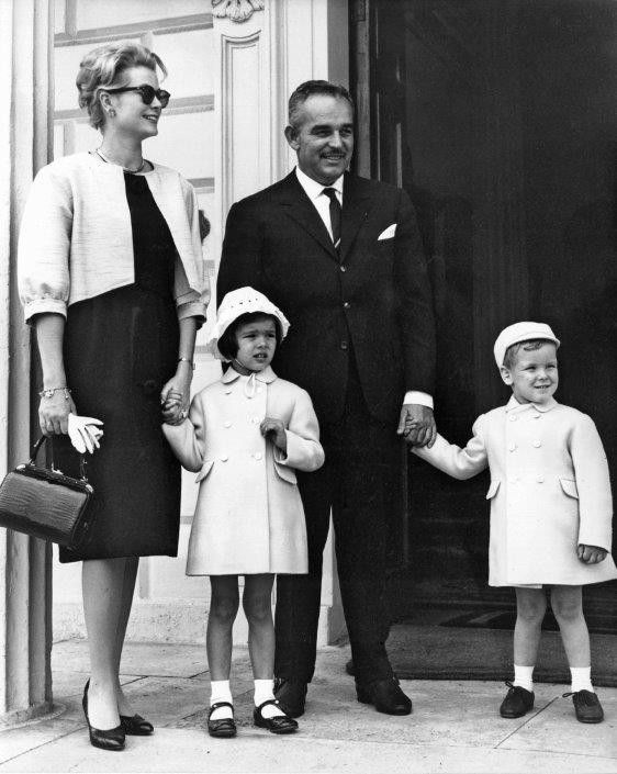 Princess Grace & Prince Rainier III official state visit to Ireland in 1961 - 9