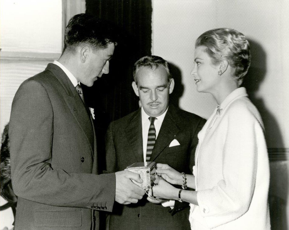 Princess Grace & Prince Rainier III official state visit to Ireland in 1961 - 8