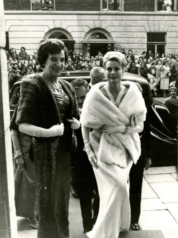 Princess Grace & Prince Rainier III official state visit to Ireland in 1961 - 23