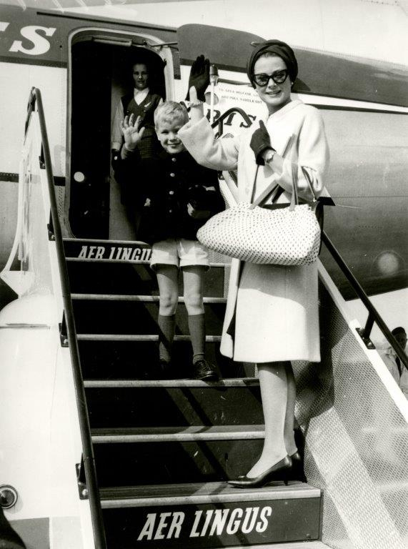 Princess Grace & Prince Rainier III official state visit to Ireland in 1961 - 21