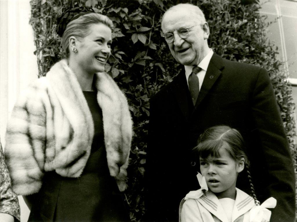 Princess Grace & Prince Rainier III official state visit to Ireland in 1961 - 19