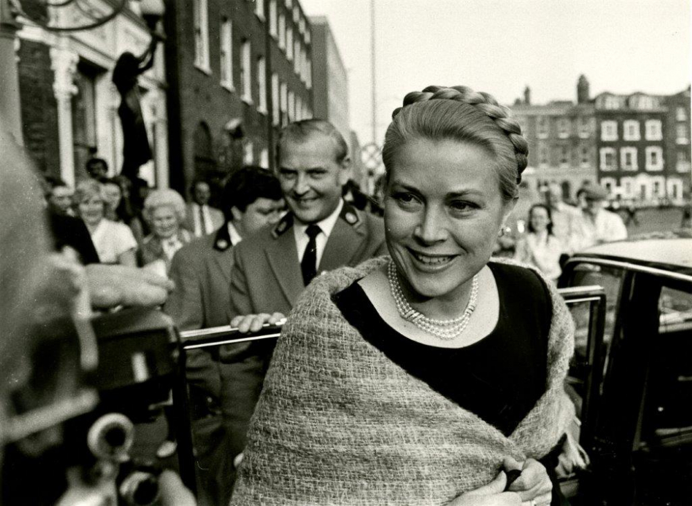 Princess Grace & Prince Rainier III official state visit to Ireland in 1961 - 17