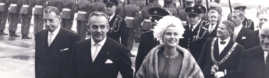 Princess Grace & Prince Rainier III official state visit to Ireland in 1961 - 6
