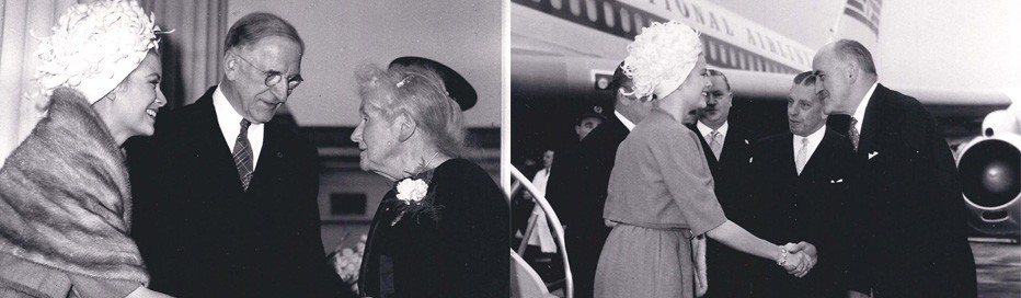 Princess Grace & Prince Rainier III official state visit to Ireland in 1961 - 4