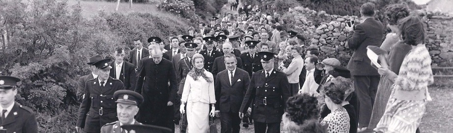 Princess Grace & Prince Rainier III official state visit to Ireland in 1961 - 7