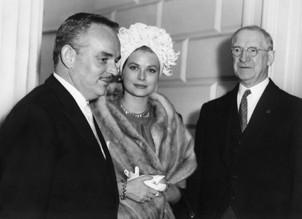 Princess Grace & Prince Rainier III official state visit to Ireland in 1961 - 14