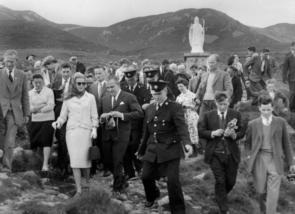 Princess Grace & Prince Rainier III official state visit to Ireland in 1961 - 16