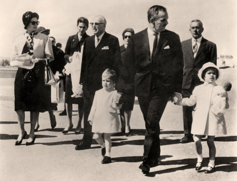 Princess Grace & Prince Rainier III official state visit to Ireland in 1961 - 2
