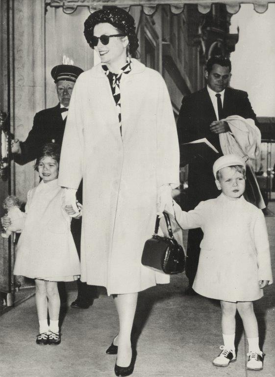 Princess Grace & Prince Rainier III official state visit to Ireland in 1961 - 3